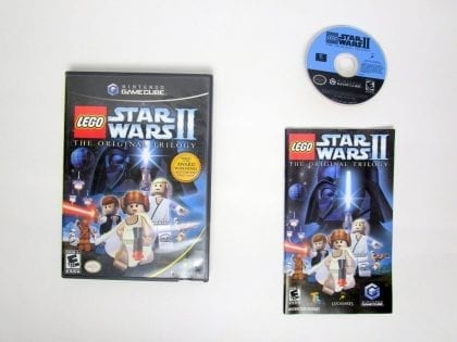 LEGO Star Wars II Original Trilogy game for Nintendo GameCube -Complete