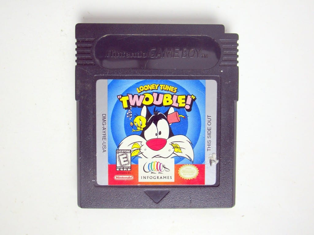 Looney Tunes Twouble game for Nintendo Game Boy Color -Loose