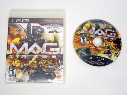 MAG game for Sony PlayStation 3 -Game & Case