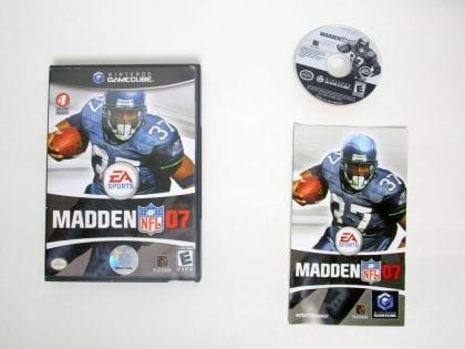 Madden 2007 game for Nintendo GameCube -Complete