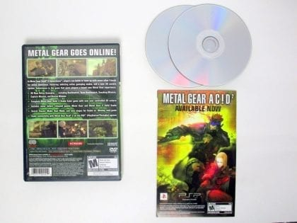 Metal Gear Solid 3 Subsistence game for Sony PlayStation 2 | The Game Guy