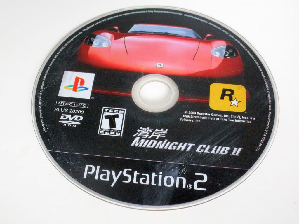 Midnight Club 2 game for Sony PlayStation 2 -Loose