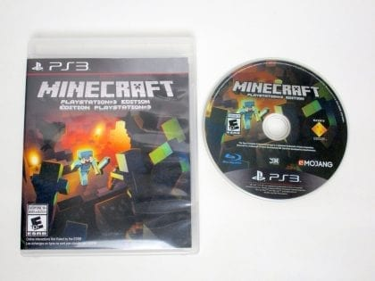Minecraft game for Sony PlayStation 3 -Game & Case