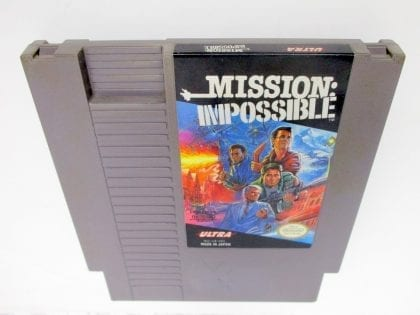 Mission Impossible game for Nintendo NES -Loose
