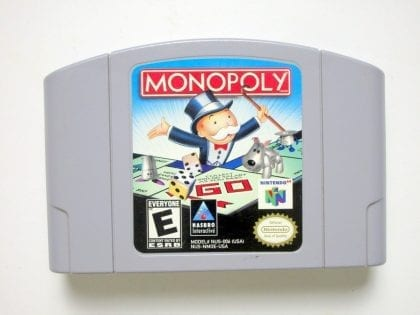Monopoly game for Nintendo 64 -Loose