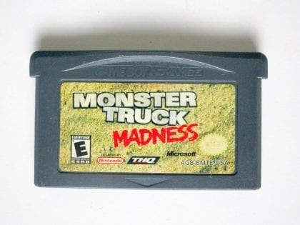 Monster Truck Madness game for Nintendo Game Boy Advance -Loose
