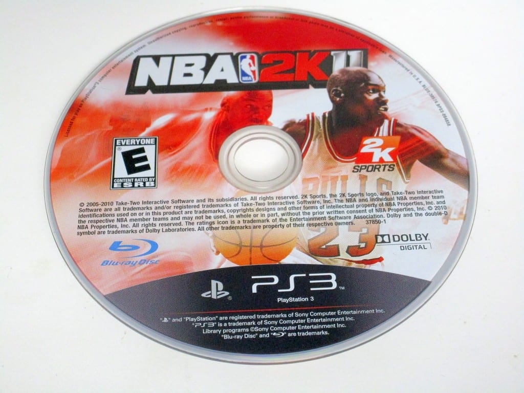 NBA 2K11 game for Sony PlayStation 3 -Loose