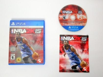 NBA 2K15 game for Sony PlayStation 4 -Complete