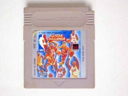 NBA Allstar Challenge game for Nintendo Game Boy -Loose