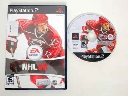 NHL 08 game for Sony PlayStation 2 -Game & Case