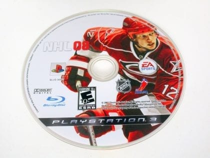 NHL 08 game for Sony PlayStation 3 -Loose