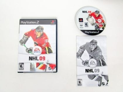 NHL 09 game for Sony PlayStation 2 -Complete