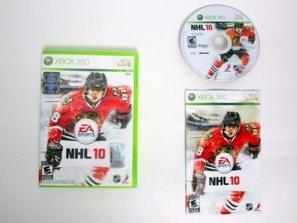 NHL 10 game for Microsoft Xbox 360 -Complete