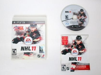 NHL 11 game for Sony PlayStation 3 -Complete