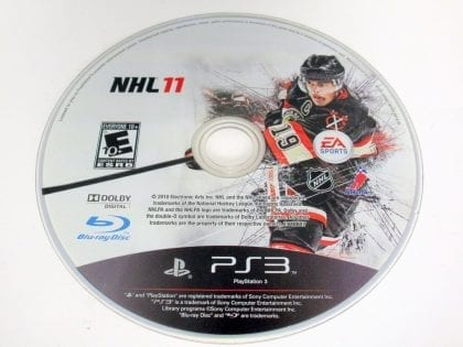 NHL 11 game for Sony PlayStation 3 -Loose