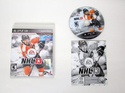 NHL 13 game for Sony PlayStation 3 -Complete