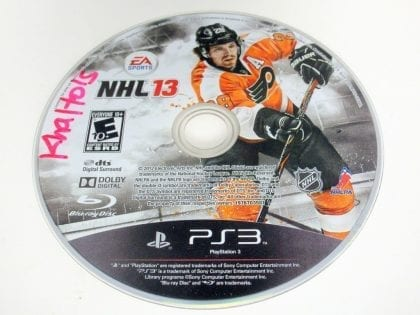 NHL 13 game for Sony PlayStation 3 -Loose