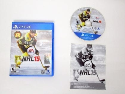 NHL 15 game for Sony PlayStation 4 -Complete
