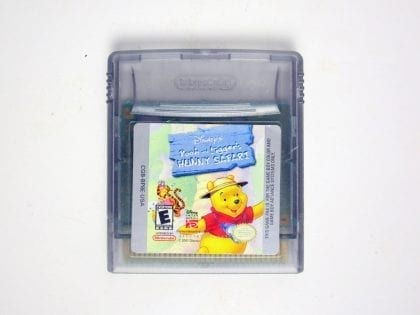 Pooh and Tigger's Hunny Safari game for Nintendo Game Boy Color -Loose