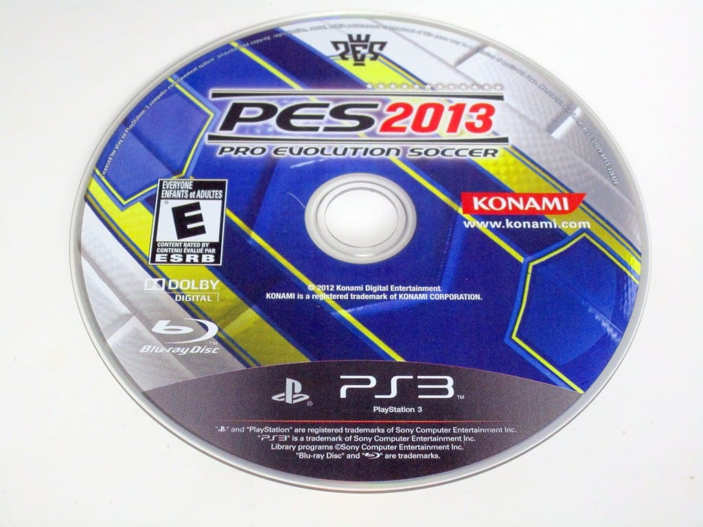 Pro Evo Soccer 2013 game for Sony PlayStation 3 -Loose