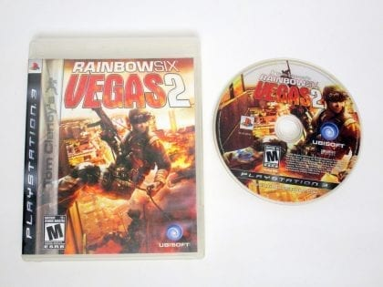 Rainbow Six Vegas 2 game for Sony PlayStation 3 -Game & Case