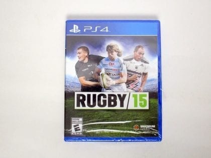 Rugby 15 game for Sony PlayStation 4 -Complete