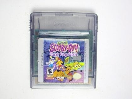 Scooby Doo Creep Capers game for Nintendo Game Boy Color -Loose