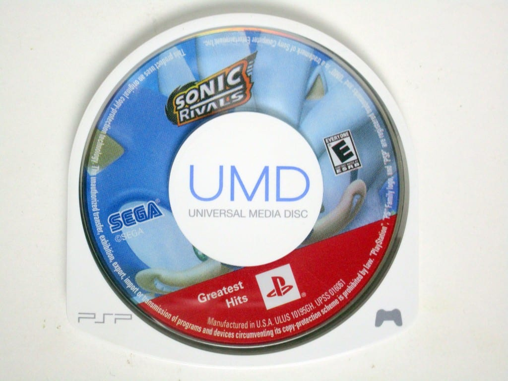 Sonic Rivals game for Sony PSP -Loose