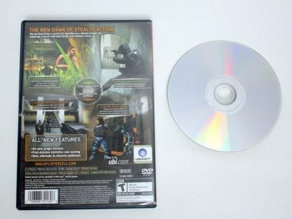 Splinter Cell Pandora Tomorrow game for Sony PlayStation 2   The Game Guy