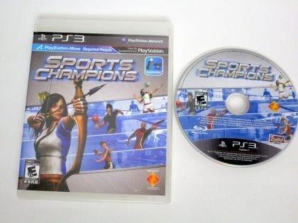 Sports Champions game for Sony PlayStation 3 -Game & Case