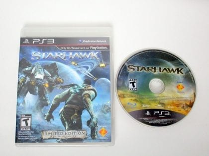 Starhawk game for Sony PlayStation 3 -Game & Case