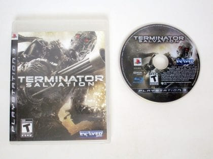 Terminator Salvation game for Sony PlayStation 3 -Game & Case