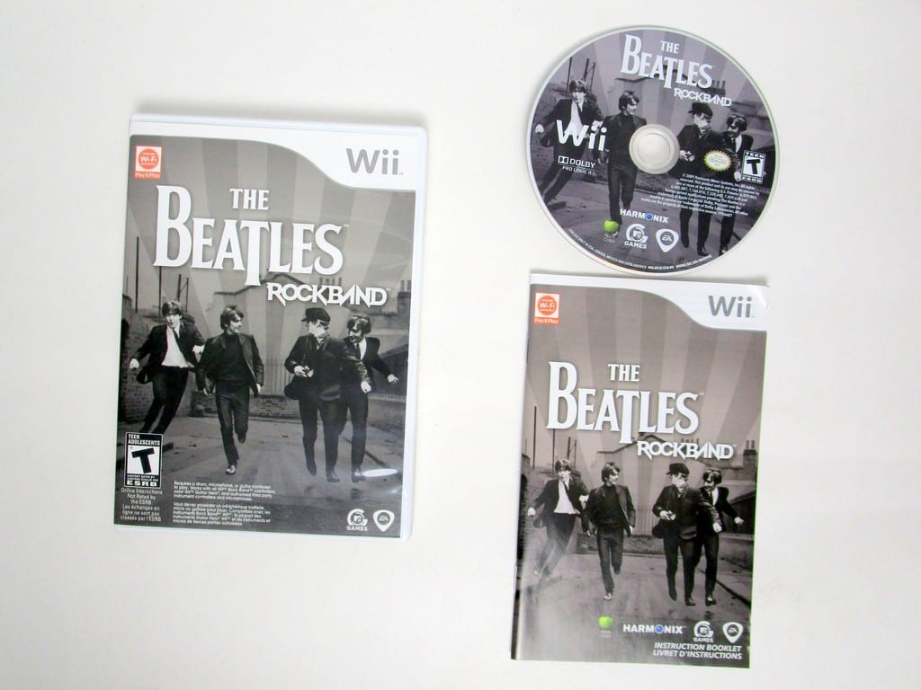 The Beatles: Rock Band game for Nintendo Wii -Complete