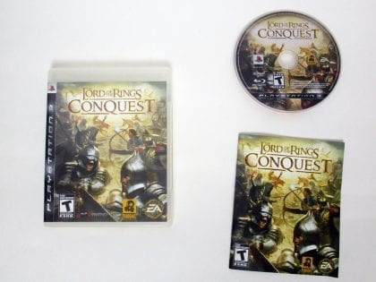 The Lord of the Rings Conquest game for Sony PlayStation 3 -Complete
