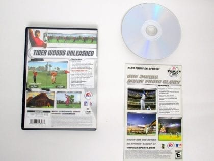 Tiger Woods 2002 game for Sony PlayStation 2   The Game Guy