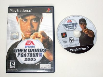 Tiger Woods 2005 game for Sony PlayStation 2 -Game & Case