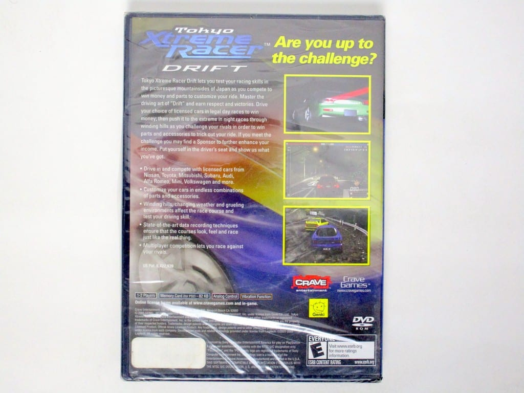 Tokyo Xtreme Racer Drift game for Sony PlayStation 2 | The Game Guy