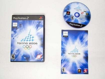 Torino 2006 game for Sony PlayStation 2 -Complete