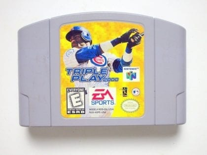 Triple Play 2000 game for Nintendo 64 -Loose