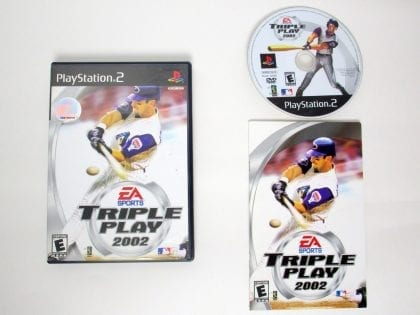 Triple Play 2002 game for Sony PlayStation 2 -Complete