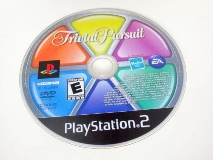 Trivial Pursuit game for Sony PlayStation 2 -Loose