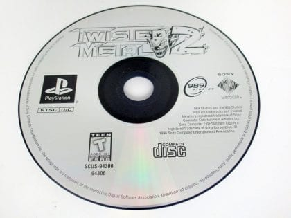 Twisted Metal 2 game for Sony PlayStation 1 -Loose