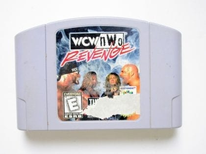 WCW Revenge game for Nintendo 64 -Loose