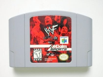 WWF Attitude game for Nintendo 64 -Loose
