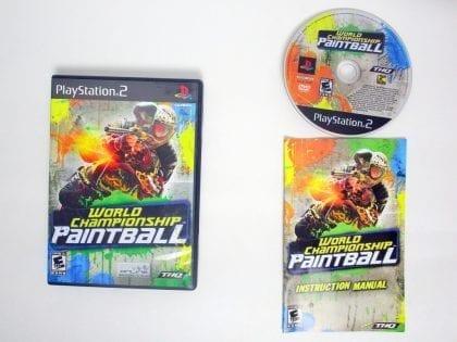 World Championship Paintball game for Sony PlayStation 2 -Complete