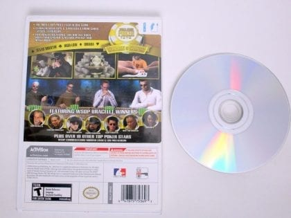 World Series of Poker Tournament of Champions 2007 game for Nintendo Wii | The Game Guy