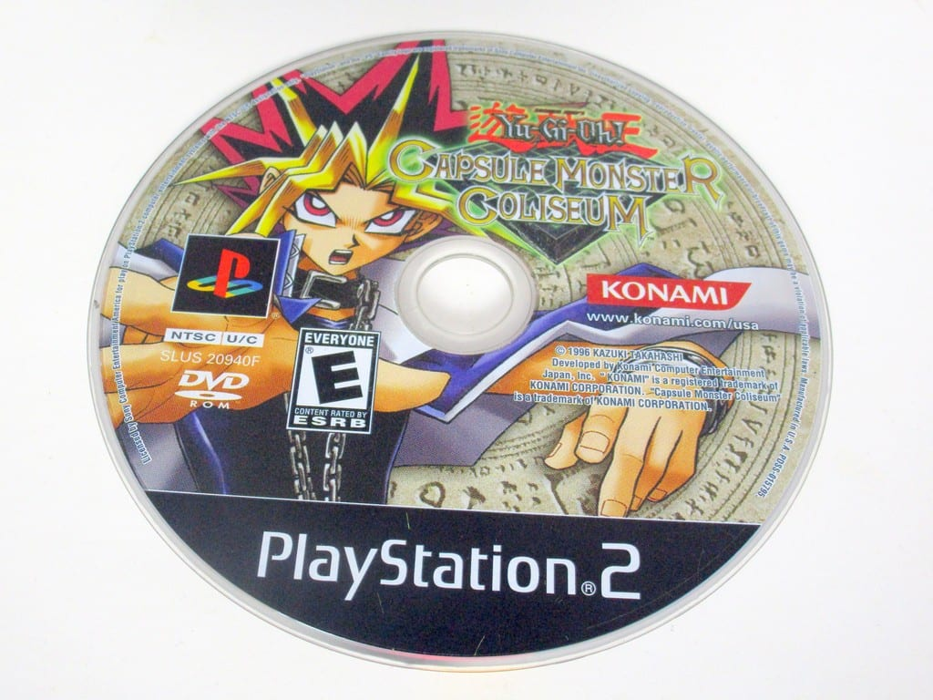 Yu-Gi-Oh Capsule Monster Coliseum game for Sony PlayStation 2 -Loose