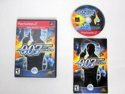 Agent Under Fire game for Sony PlayStation 2 -Complete