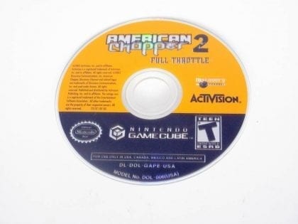 American Chopper 2 Full Throttle game for Nintendo GameCube -Loose