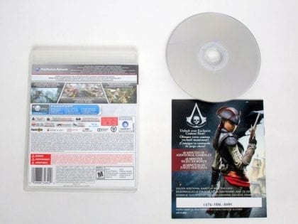 Assassin's Creed IV: Black Flag game for Sony PlayStation 3 | The Game Guy